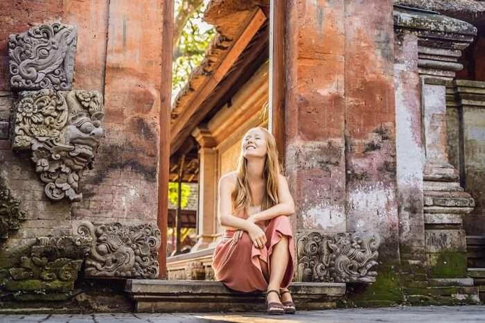 Girl in Ubud