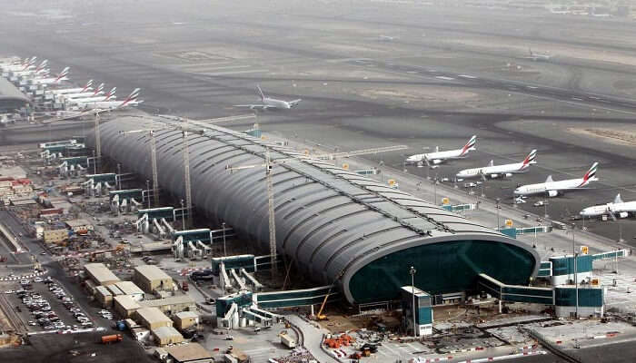 dubai airport now