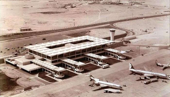 dubai international airport in 1960
