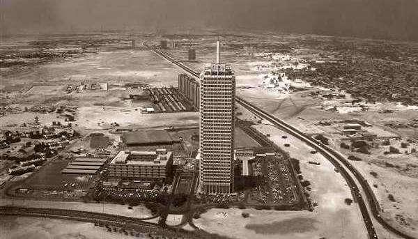 dubai world trade center in 1980
