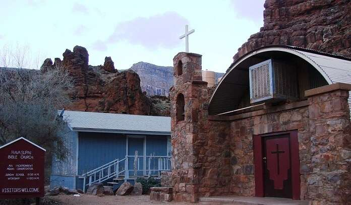 church in grand canyon
