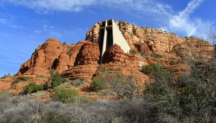 the holy cross church in Arizona