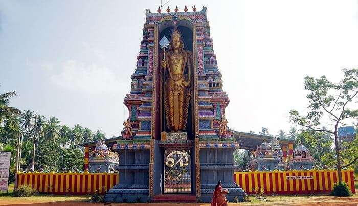 temple in chilaw