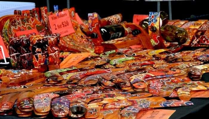 Australian Handicrafts View