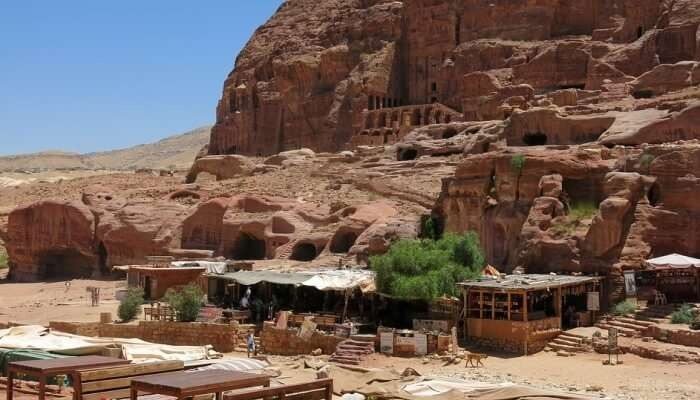 Basin Restaurant In Petra