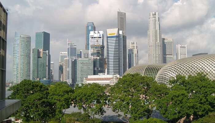 Climate in singaapore