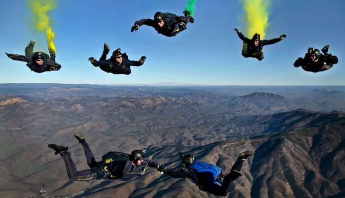 Cost Of Skydiving In Canada