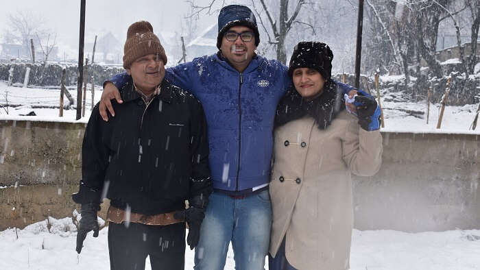 enjoyed the vacation in Kashmir
