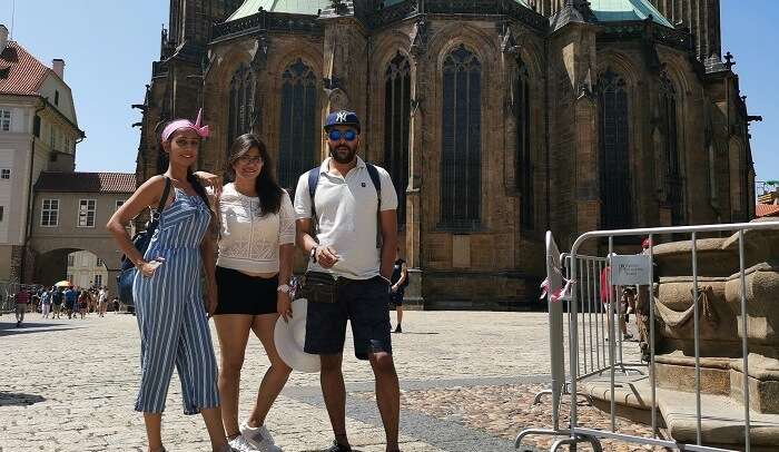day tour of Prague with friends