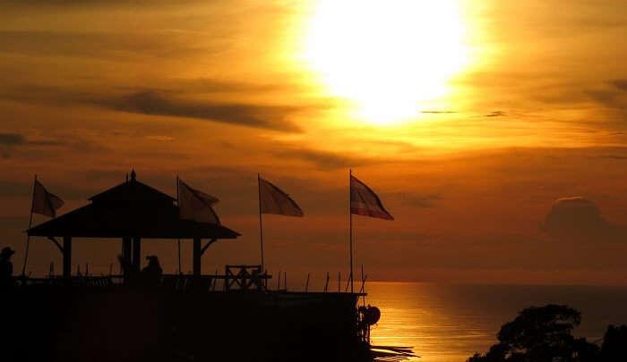 Sunset from Big Buddha