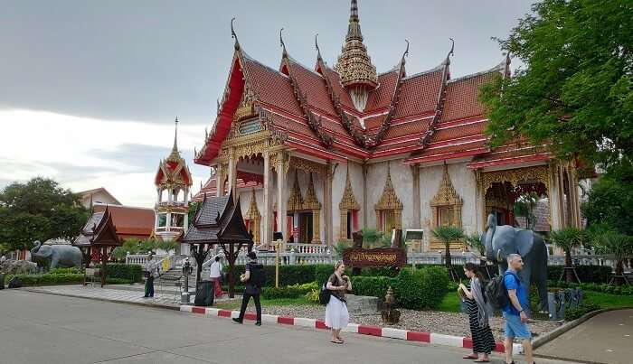Phuket City Wat Chalong Temple