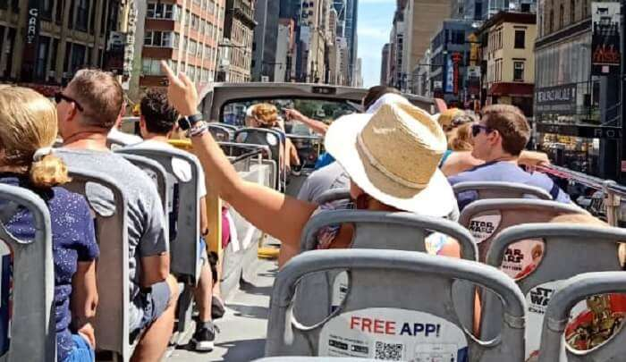 bus tour of the city