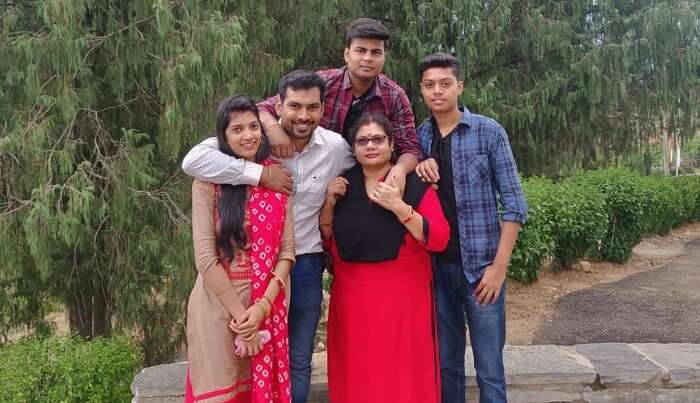 amazing time with family