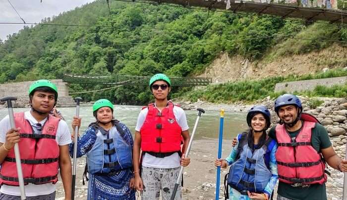 had a great experience of rafting