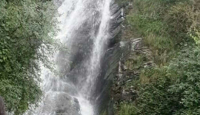 witness the amazing waterfall