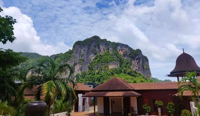 stay at Aonang Cliff Resort