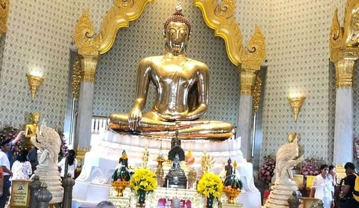 Golden Buddha in Bangok