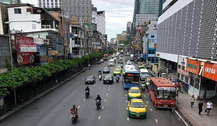 local streets in Pattaya