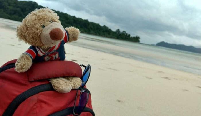 enjoyed the beach time