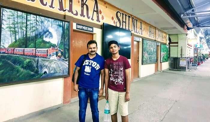 Kalka Shimla Train station