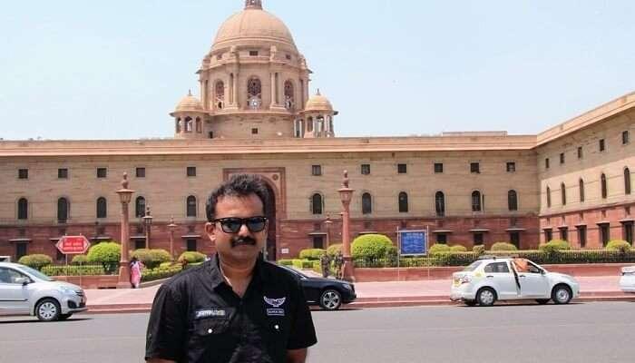 arrived to Delhi