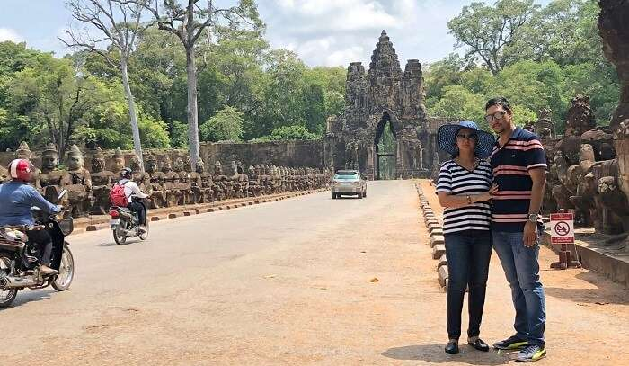 explore the Angkor Wat temples