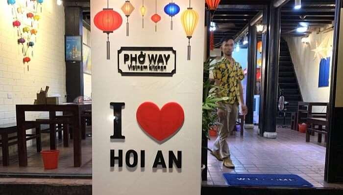 Hoi An market in Vietnam