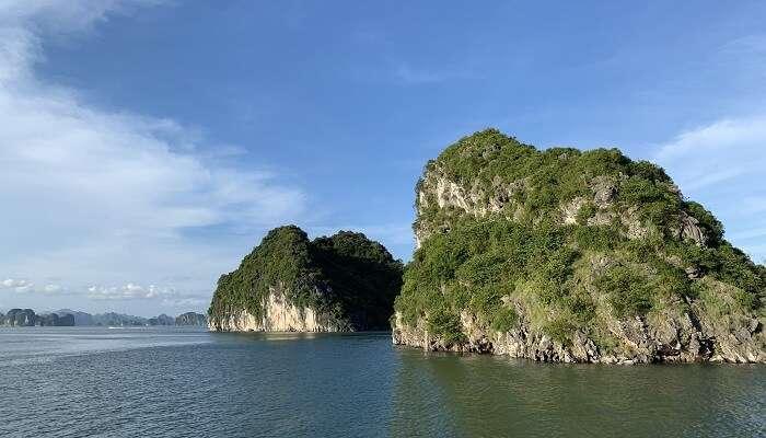 utterly peaceful island