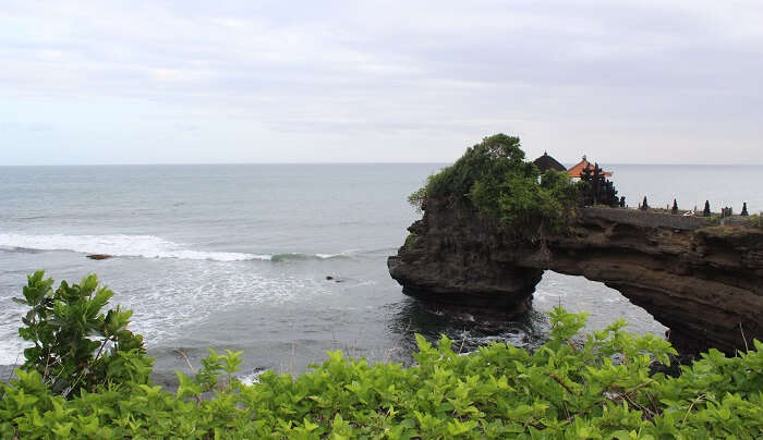 view of tanha lot temple