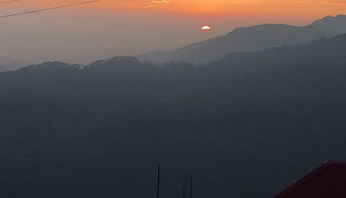 romantic and pleasing sunset
