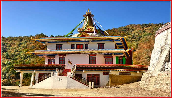 Menri Monastery In Solan