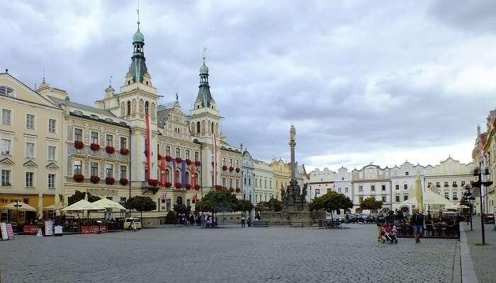Towns near Prague