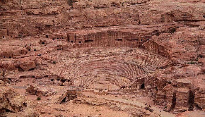 Petra Theater In Petra
