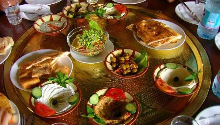 Sampling Local Food