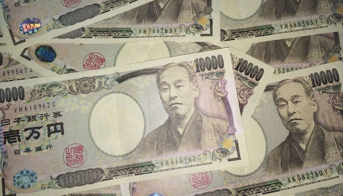 Yen Japanese Currency cash