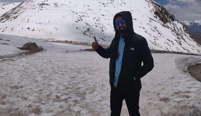 at changla pass