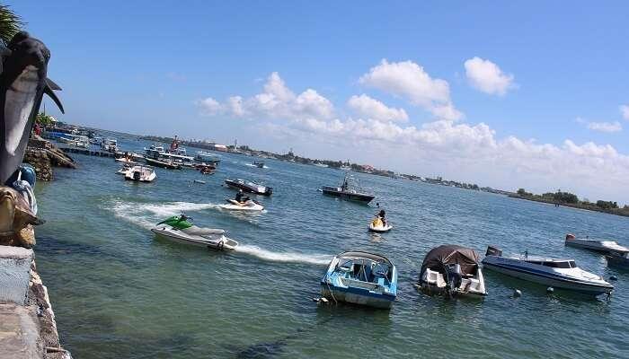 boat ride in Nusa Dua