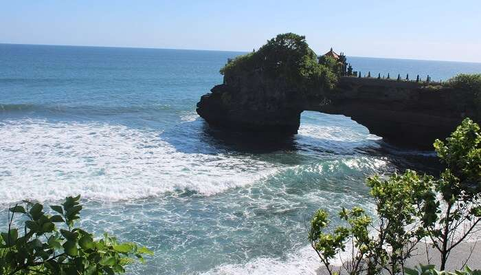 At Tanah lot