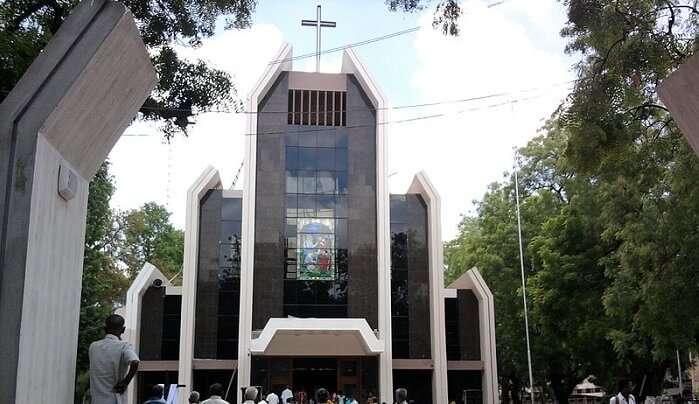 church in madurai