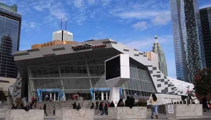 Ripley's Aquarium of Canada in Toronto, Canada.