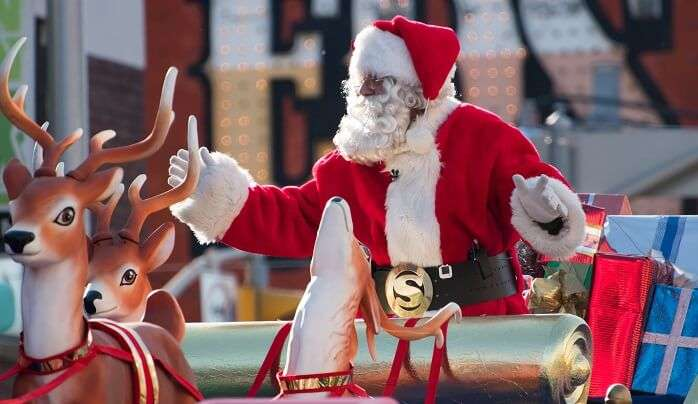 Santa Claus Parade in Toronto