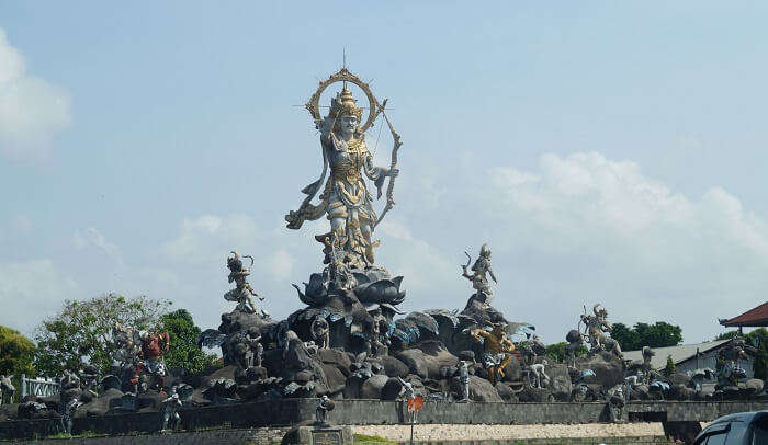 visited to the Hindu temple in Bali