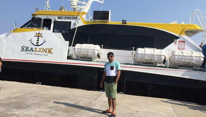 transferred to the Phoenix Bay Jetty