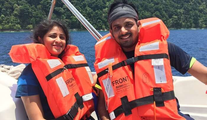 had the best experiences of water activities