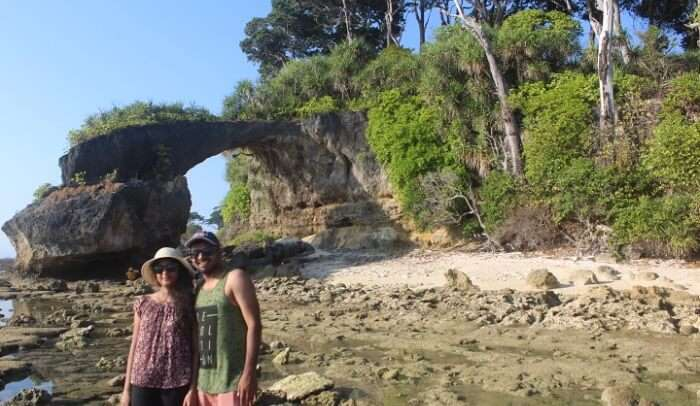 visited the Natural Bridge