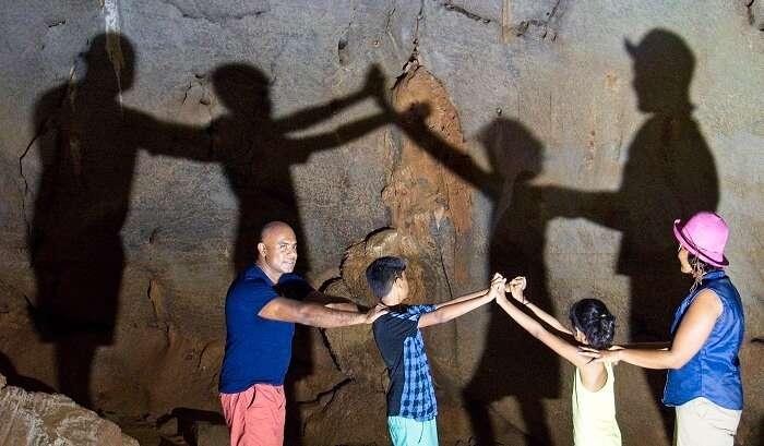had fun at phong na caves