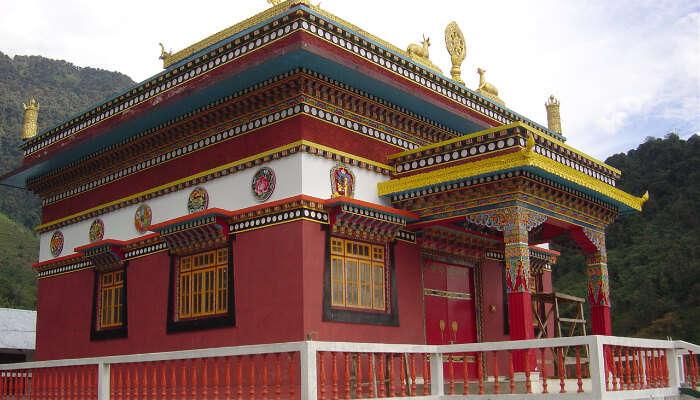 Dubdi Monastery in Yuksom