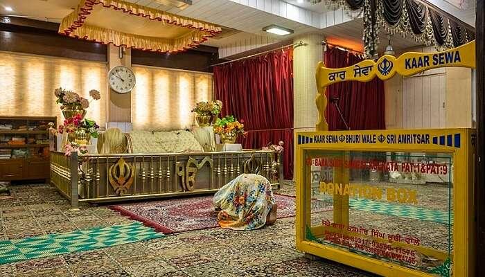 Gurudwara Sri Guru Nanakji kasauli