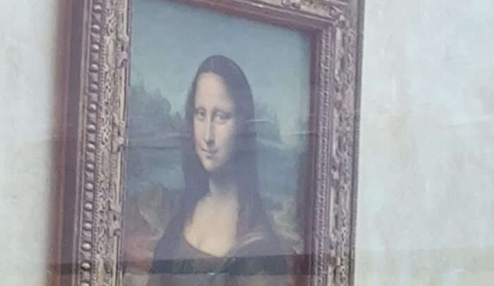 beautiful painting of Monalisa