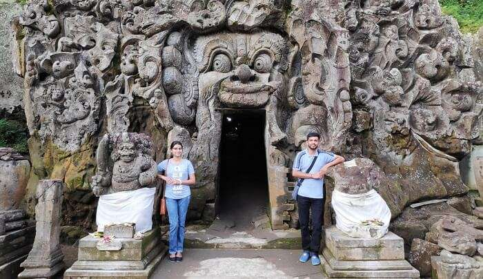 visited some famous temples in Bali